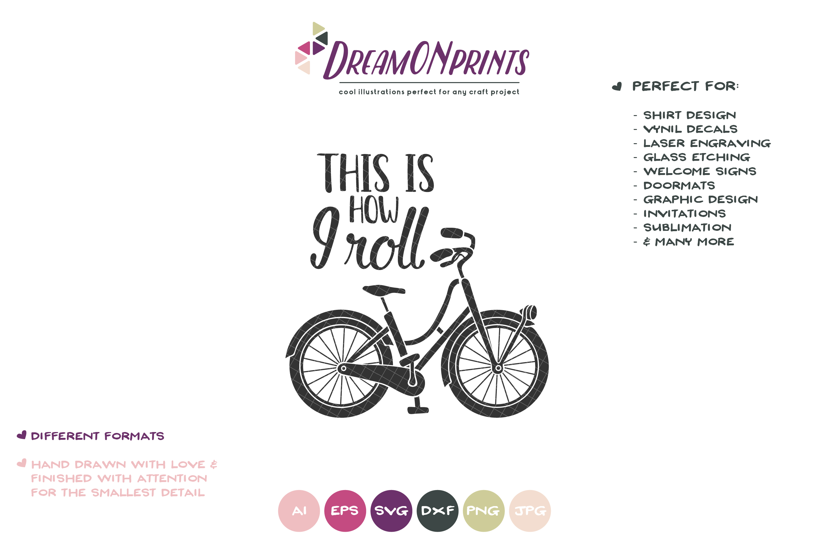 This is How I Roll | Bike Svg | Kids Shirt Design example image 2