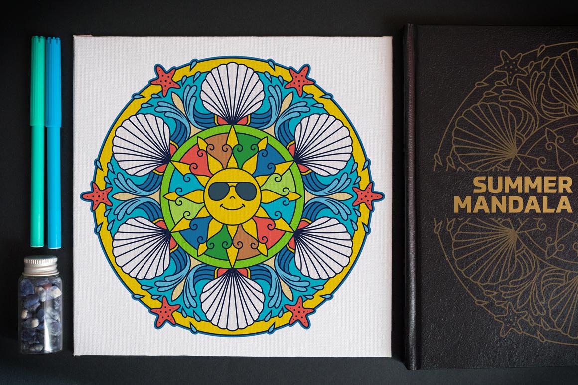 Seasonal and Holiday Mandalas example image 18
