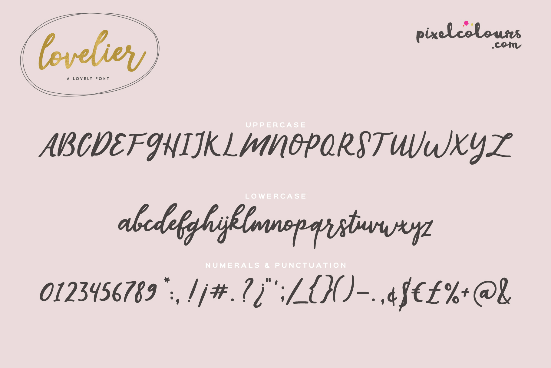 Lovelier Font example image 6