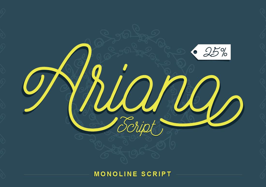 Ariana Script example image 1