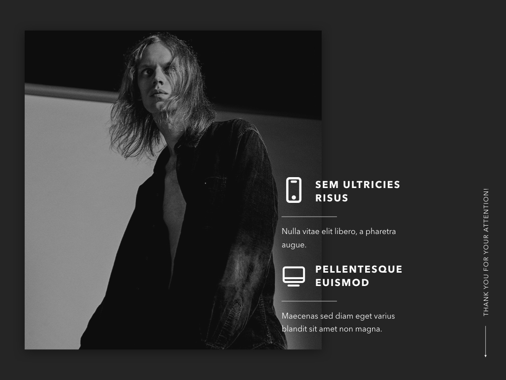 Dimness Keynote Template example image 20