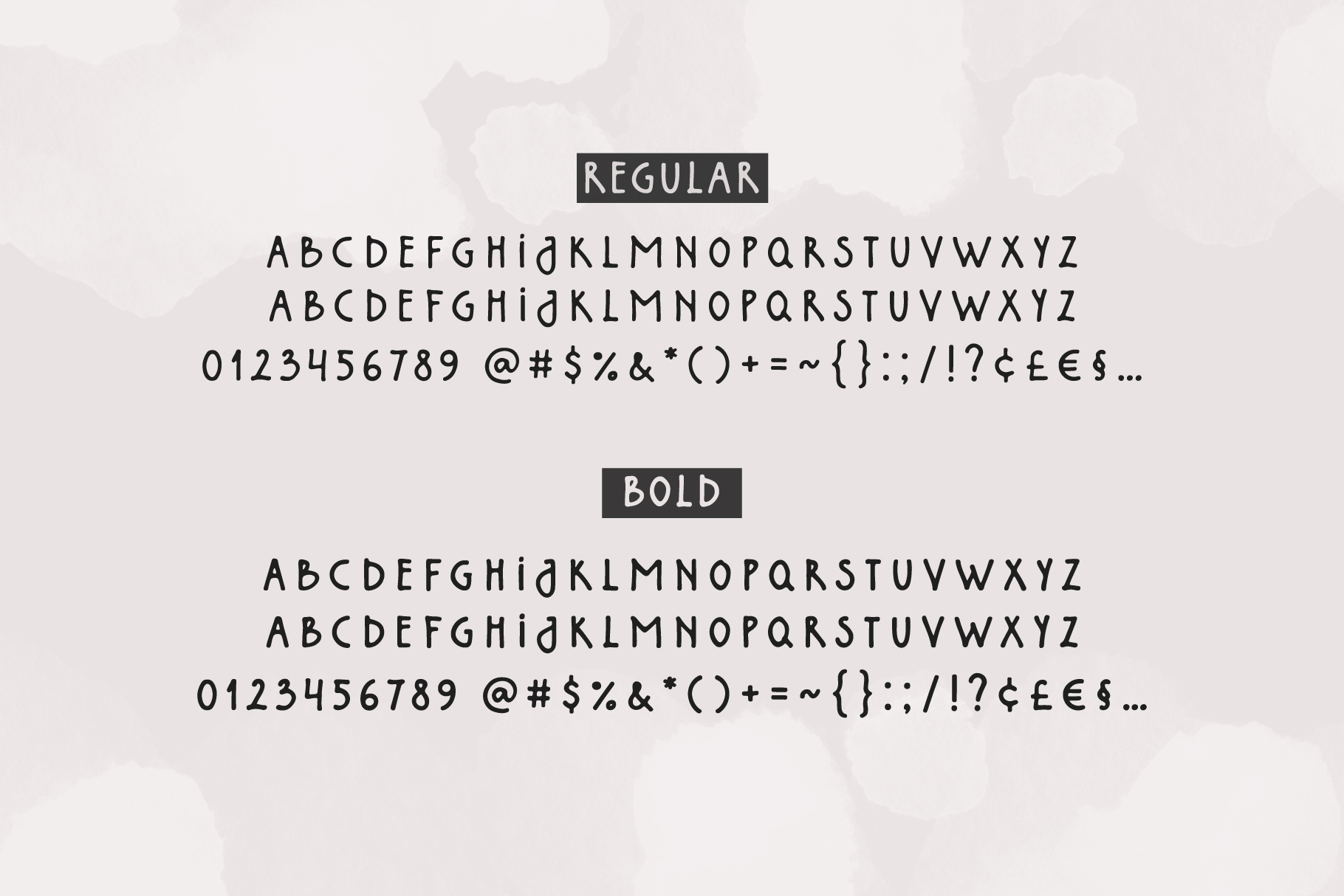 Northlands | Hand Drawn Font example image 7