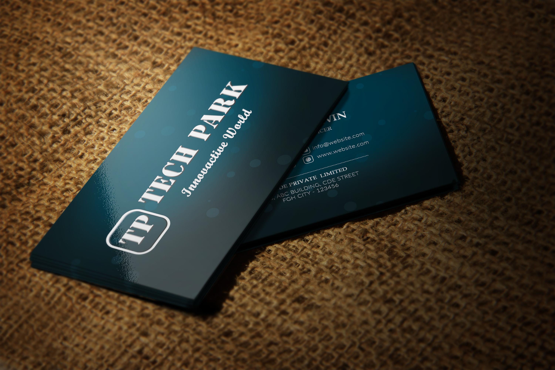 Elegant Business Card example image 5