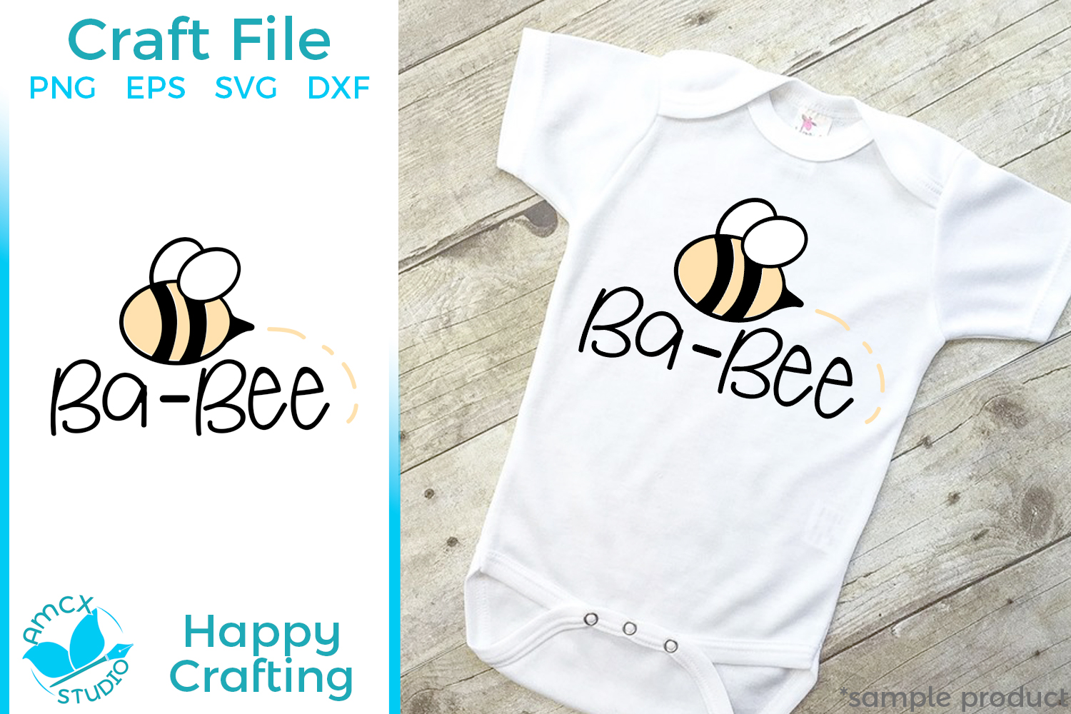 Baby Bee - A Cute Baby Craft File example image 2