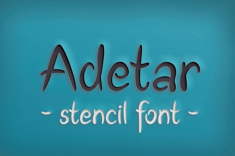 Adetar Stencil example image 3