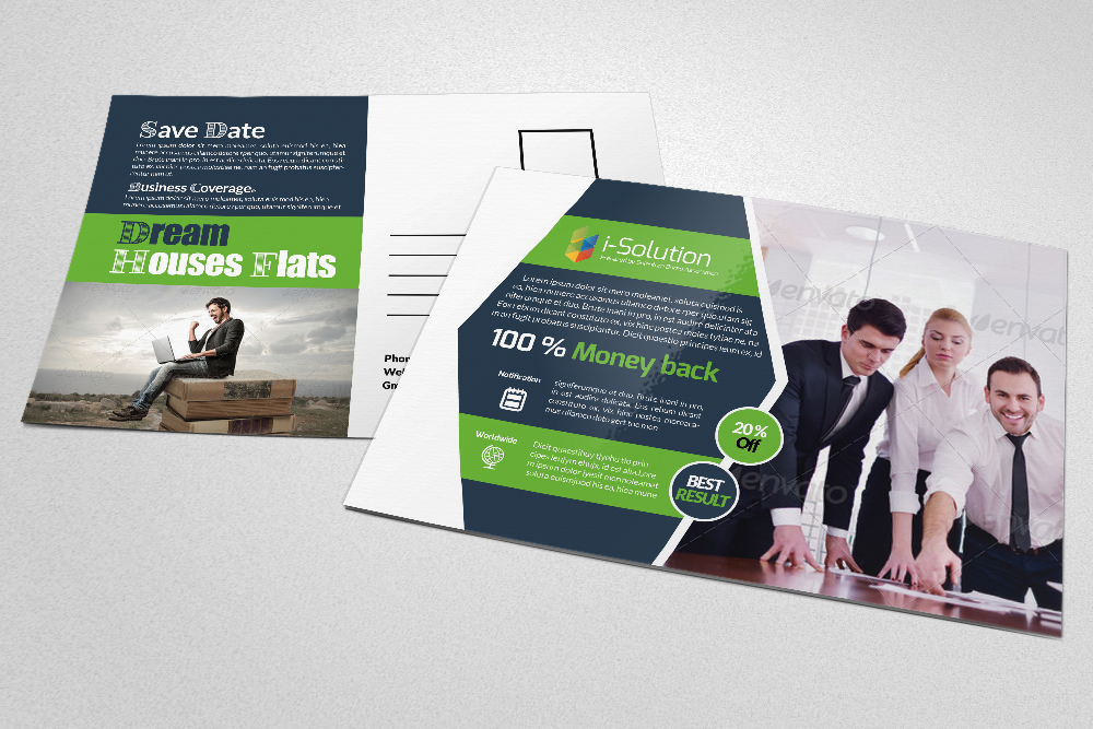 Business Postcards Templates example image 3