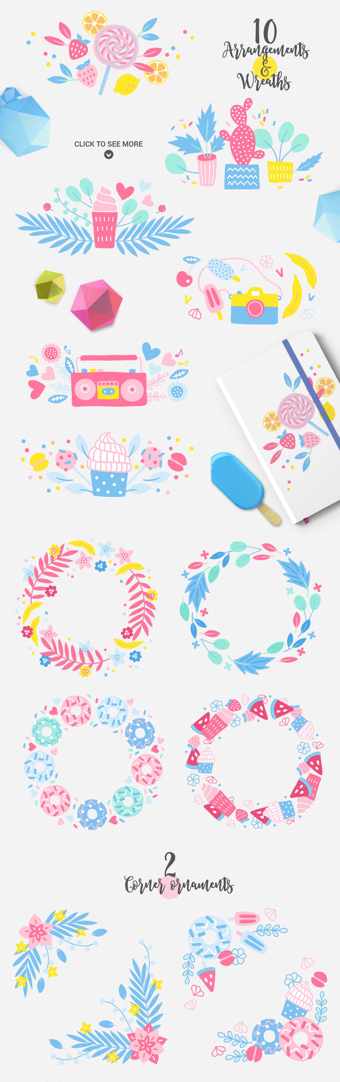 Punchy Pastels Kit example image 2