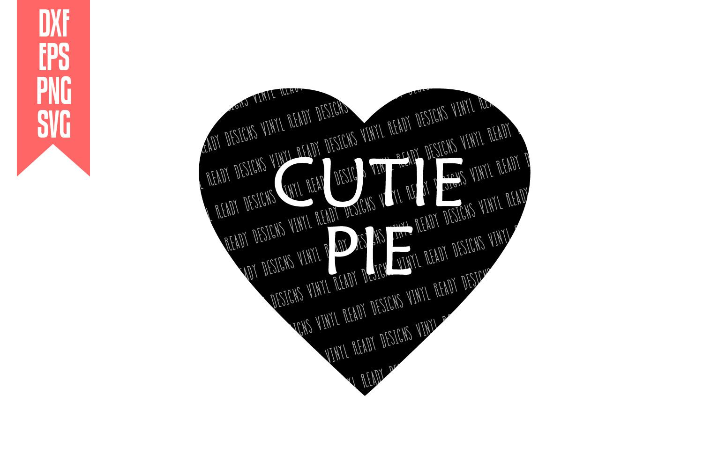 Conversation Hearts Bundle - Vector Clip Art - 9 Designs example image 9