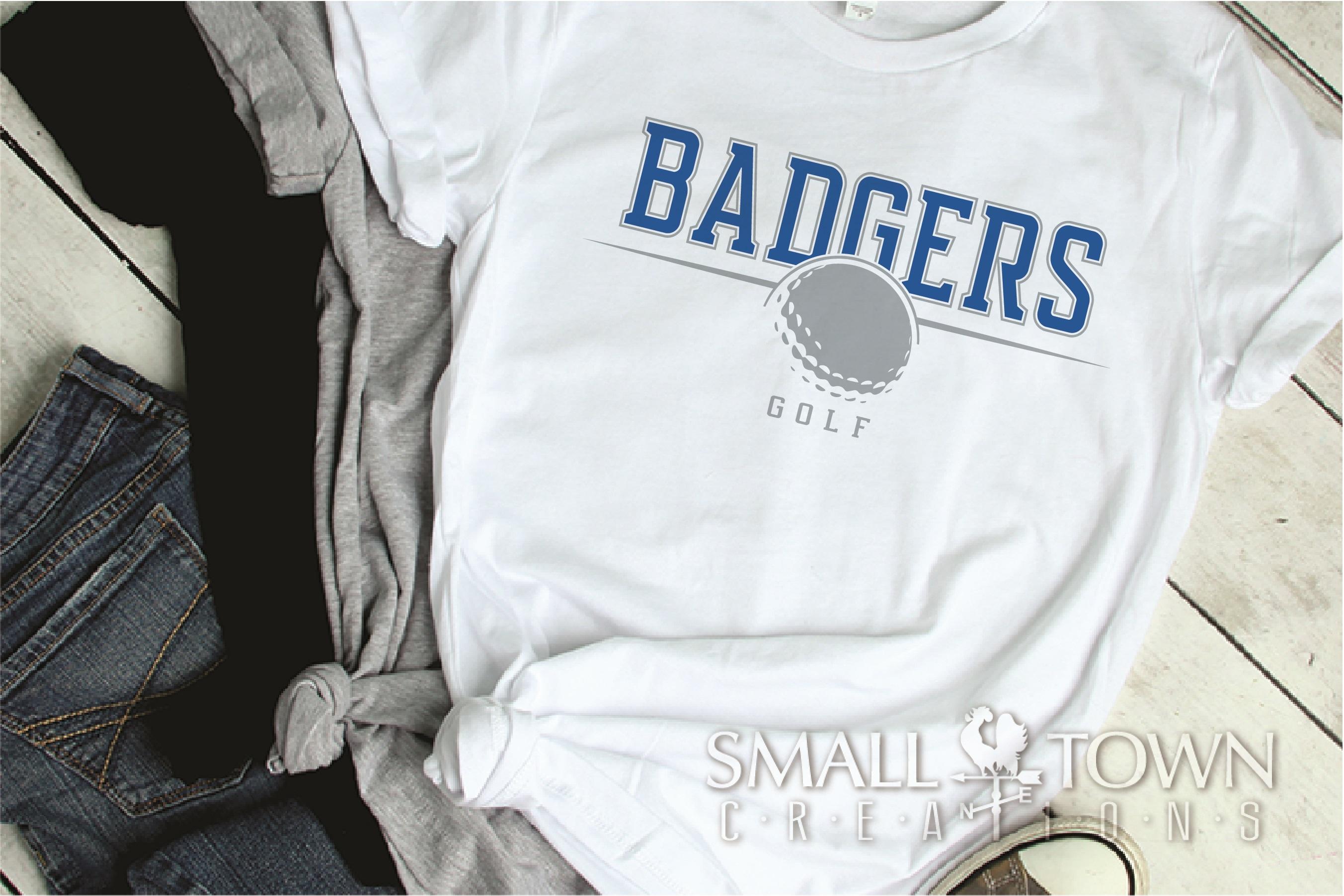 Badger, Badger Golf Team, Golf, Sport, PRINT, CUT & DESIGN example image 2