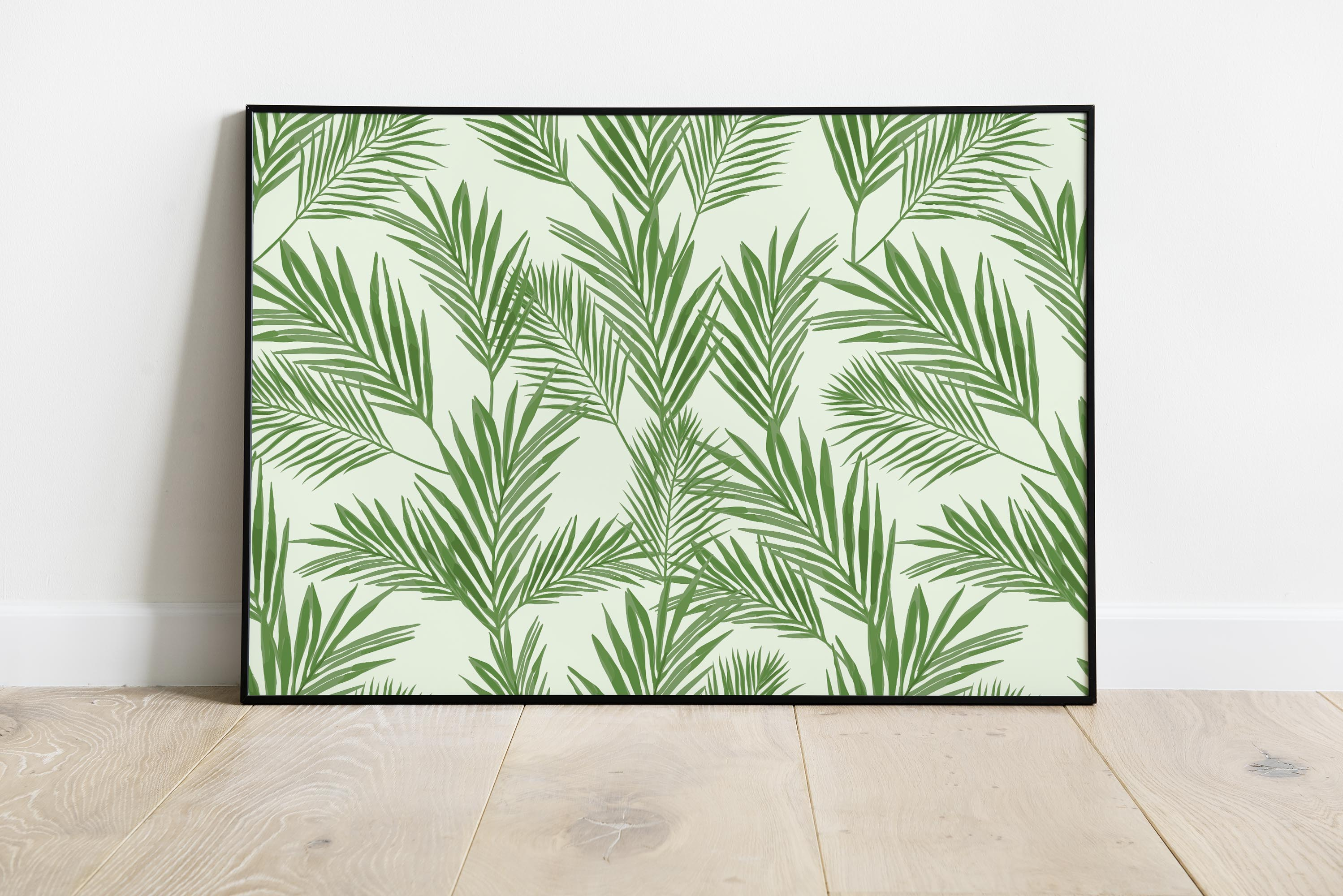 Seamless Pattern with Tropical Plant Bundle example image 3