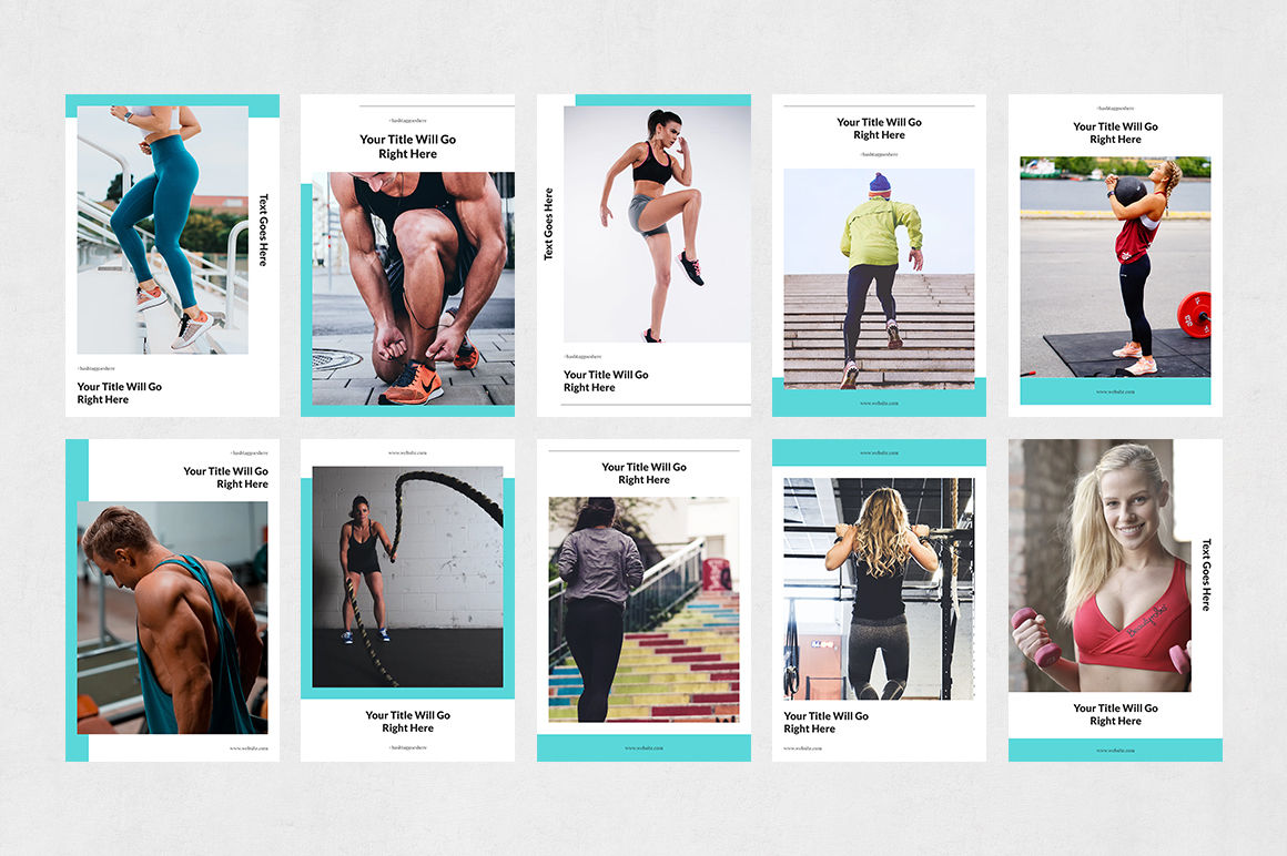 Fitness Pinterest Posts example image 7