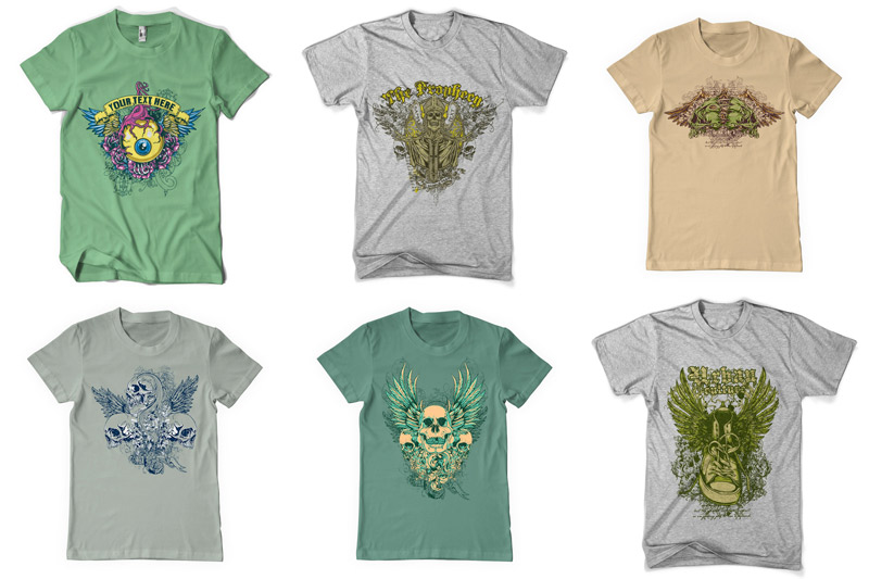 100 T-shirt Designs Vol 2 example image 16