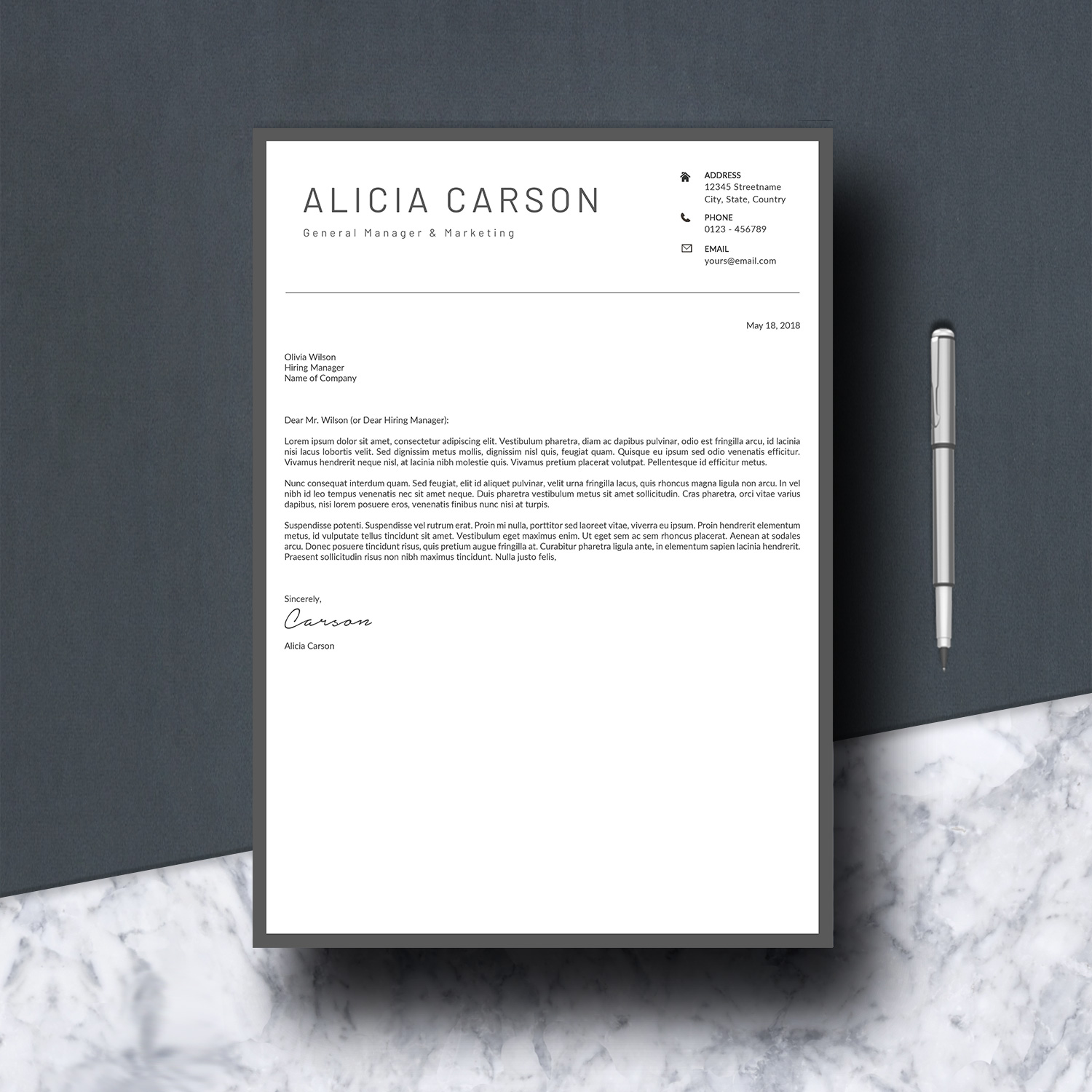 Resume Template 3 Pages example image 6