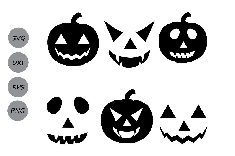 Halloween Pumpkin Svg Pumpkin Faces Svg Pumpkin Svg