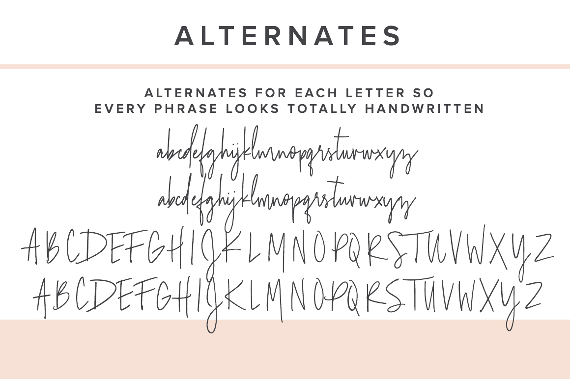 Adelaide | A Bohemian Handwritten Font example image 10