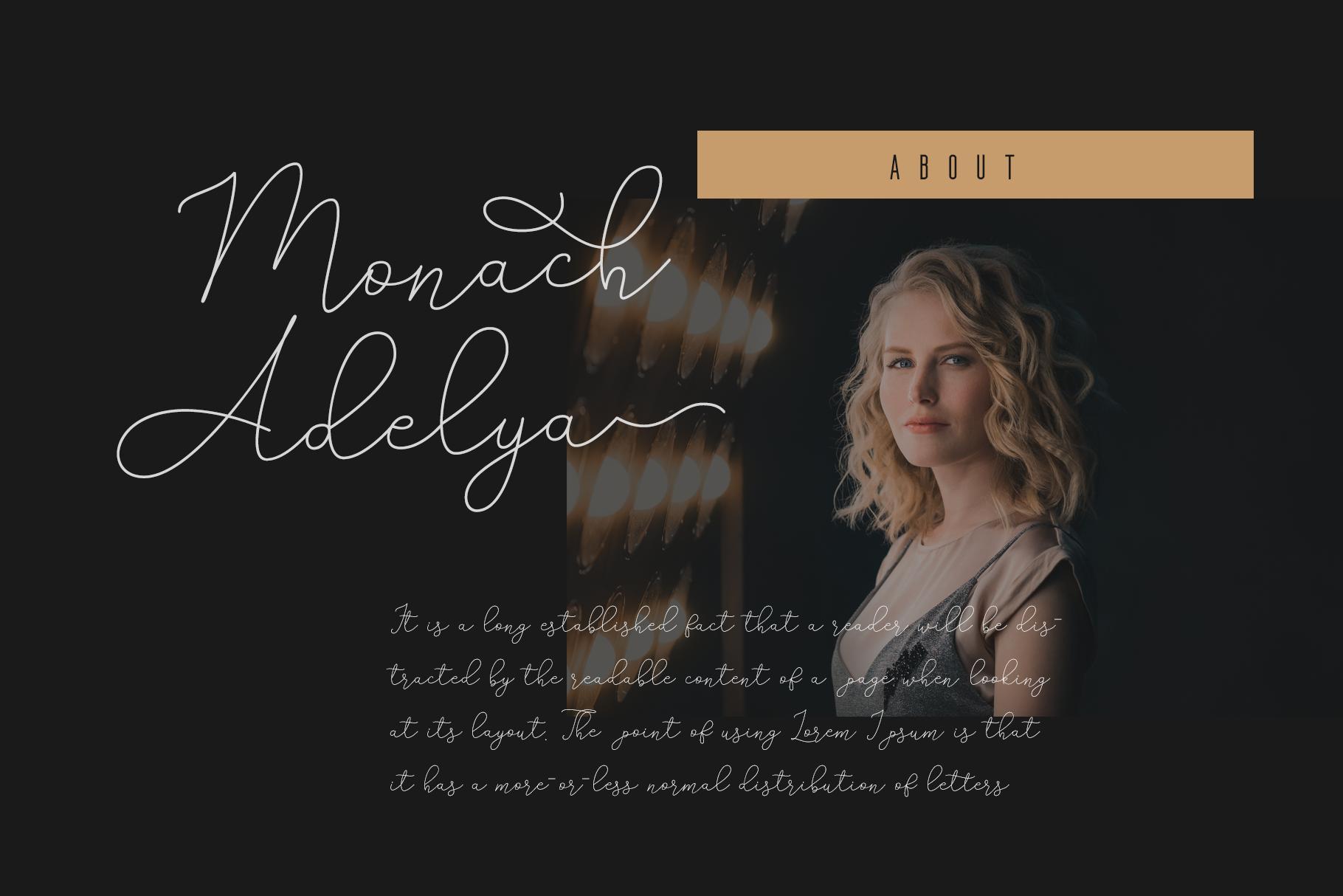 Adelya - Elegant Signature Font example image 3