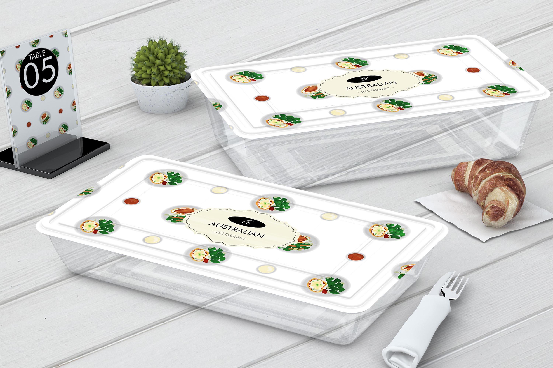 Australian Cuisine Food Seamless Pattern Bundle example image 7