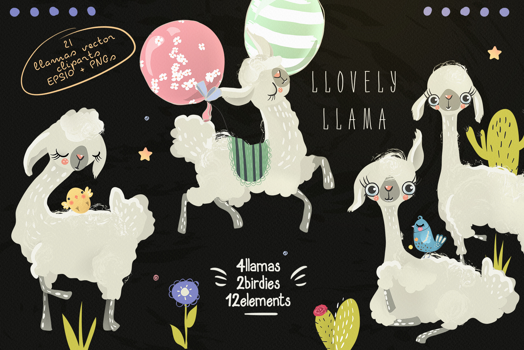 Llovely Llamas example image 2