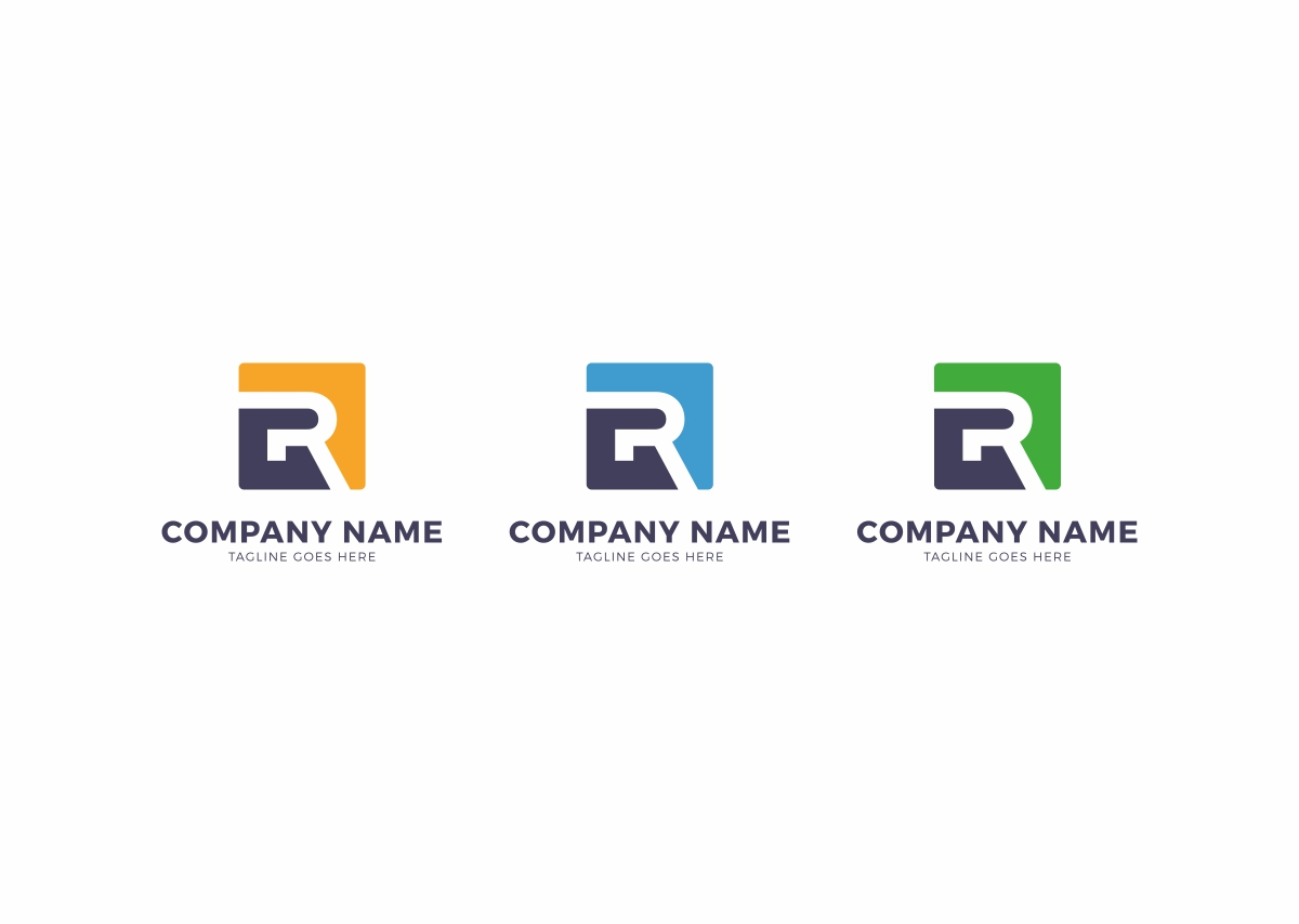 R Letter Logo example image 3
