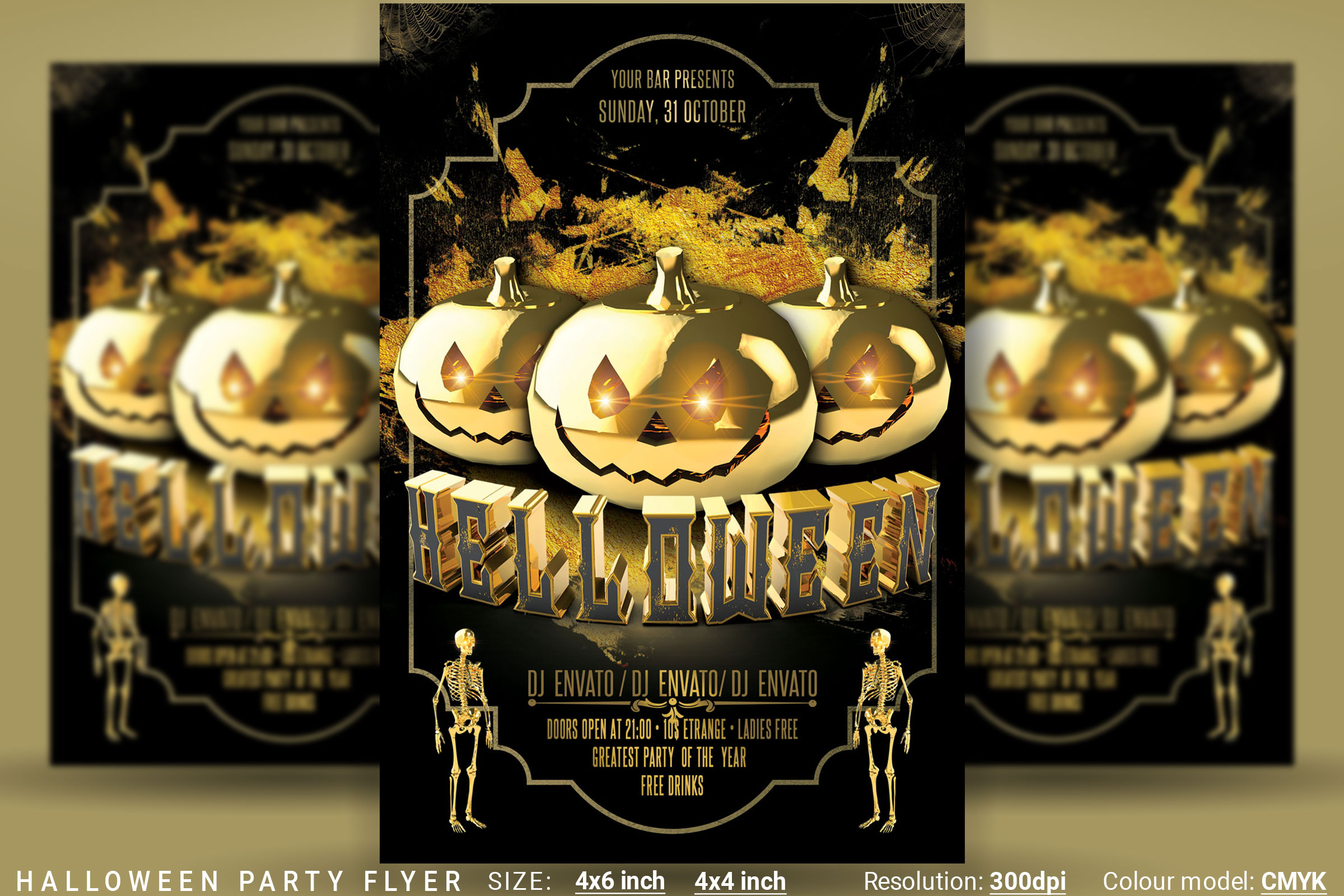Halloween Party Flyer example image 1
