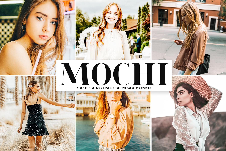 Mochi Mobile & Desktop Lightroom Presets example image 1