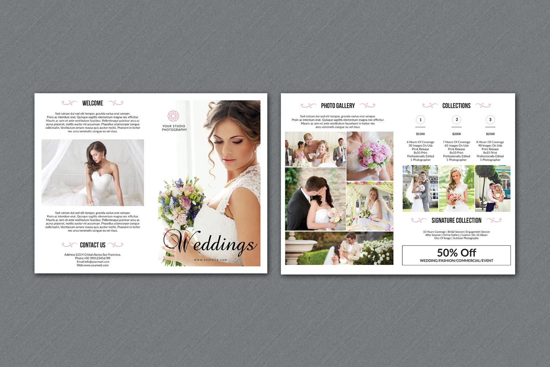 Wedding Photography Brochure example image 3
