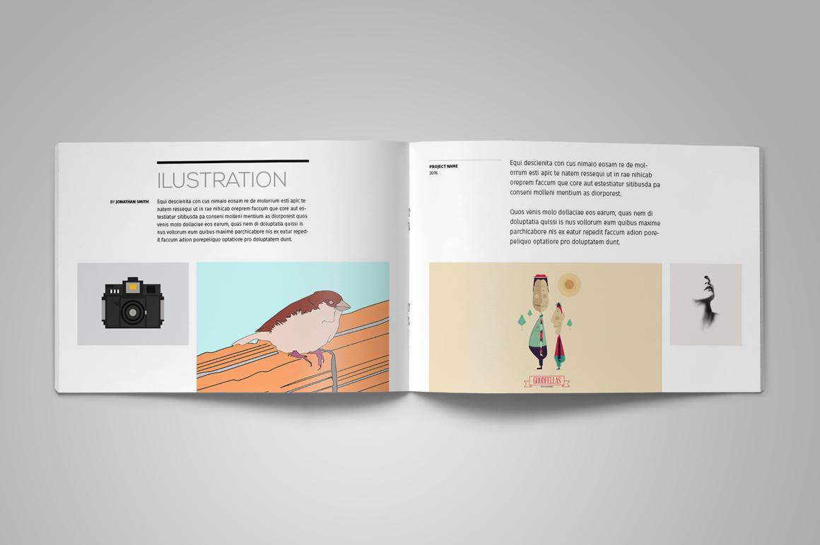 Portfolio Brochure Template example image 8