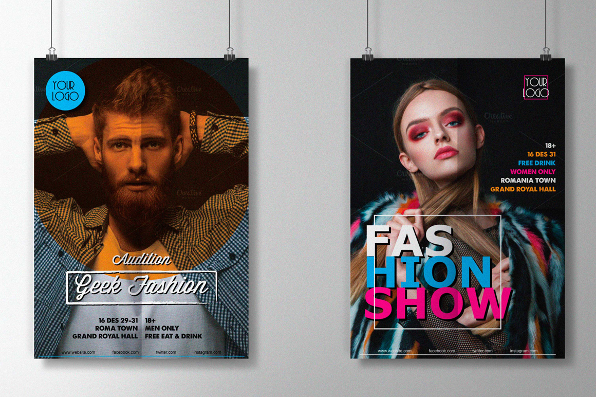 Fashion Show Flyers example image 1