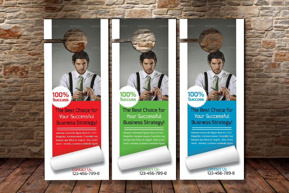 Business Advisor Door Hangers example image 3