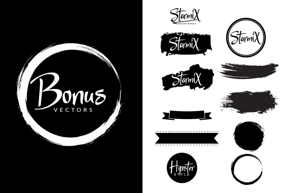StarmiX Typeface example image 9