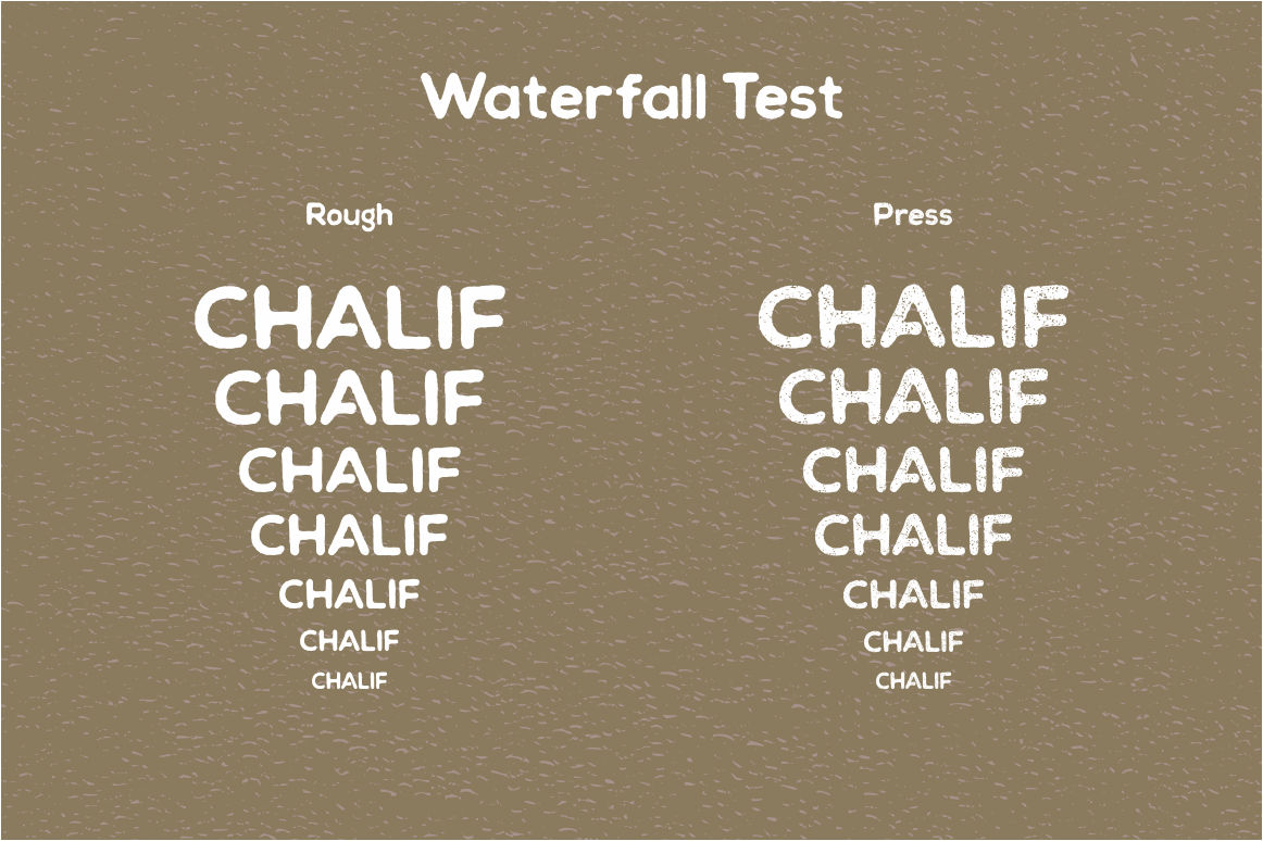 Chalif Typeface example image 5
