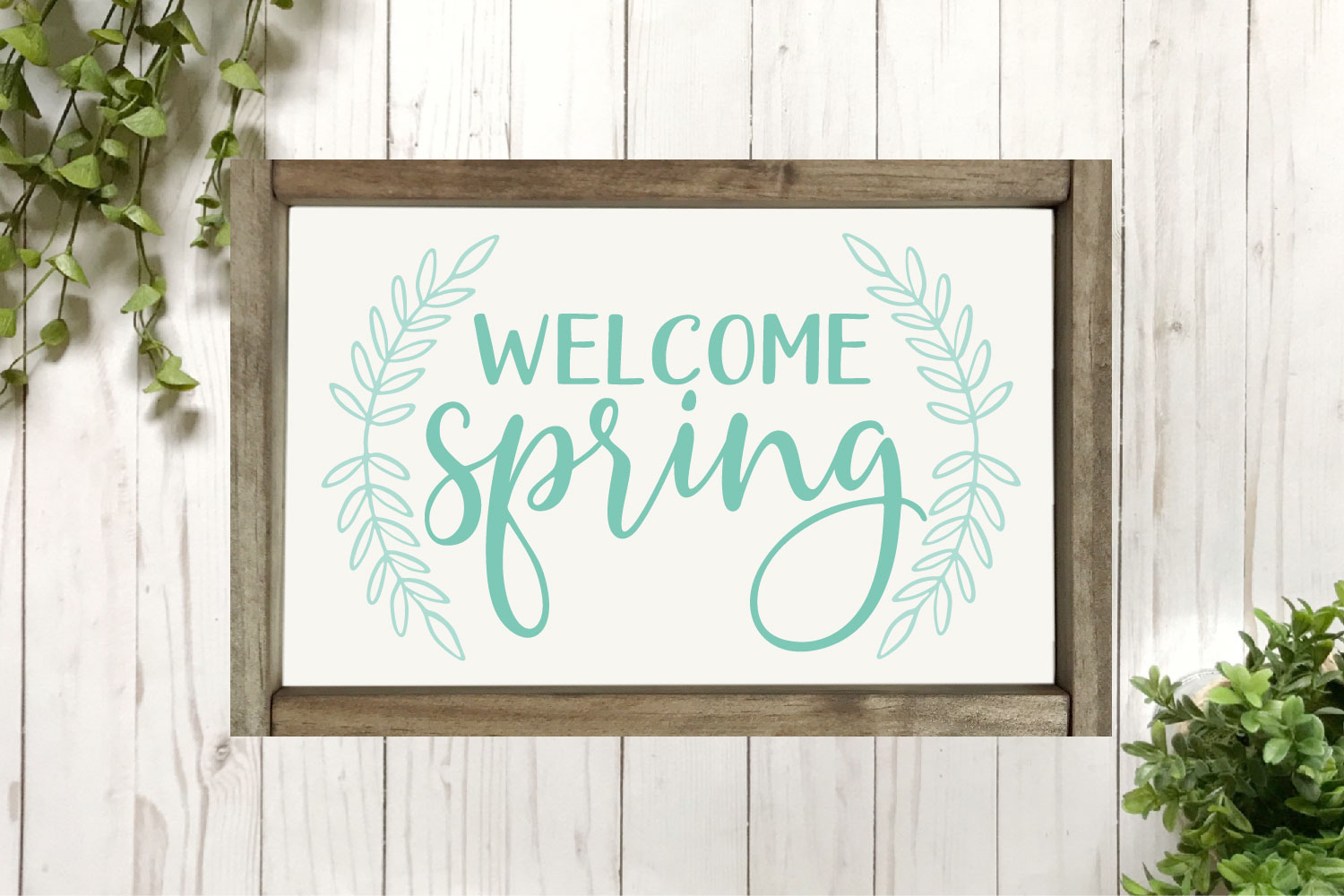 Spring SVG Bundle - Cut Files for Signs example image 11
