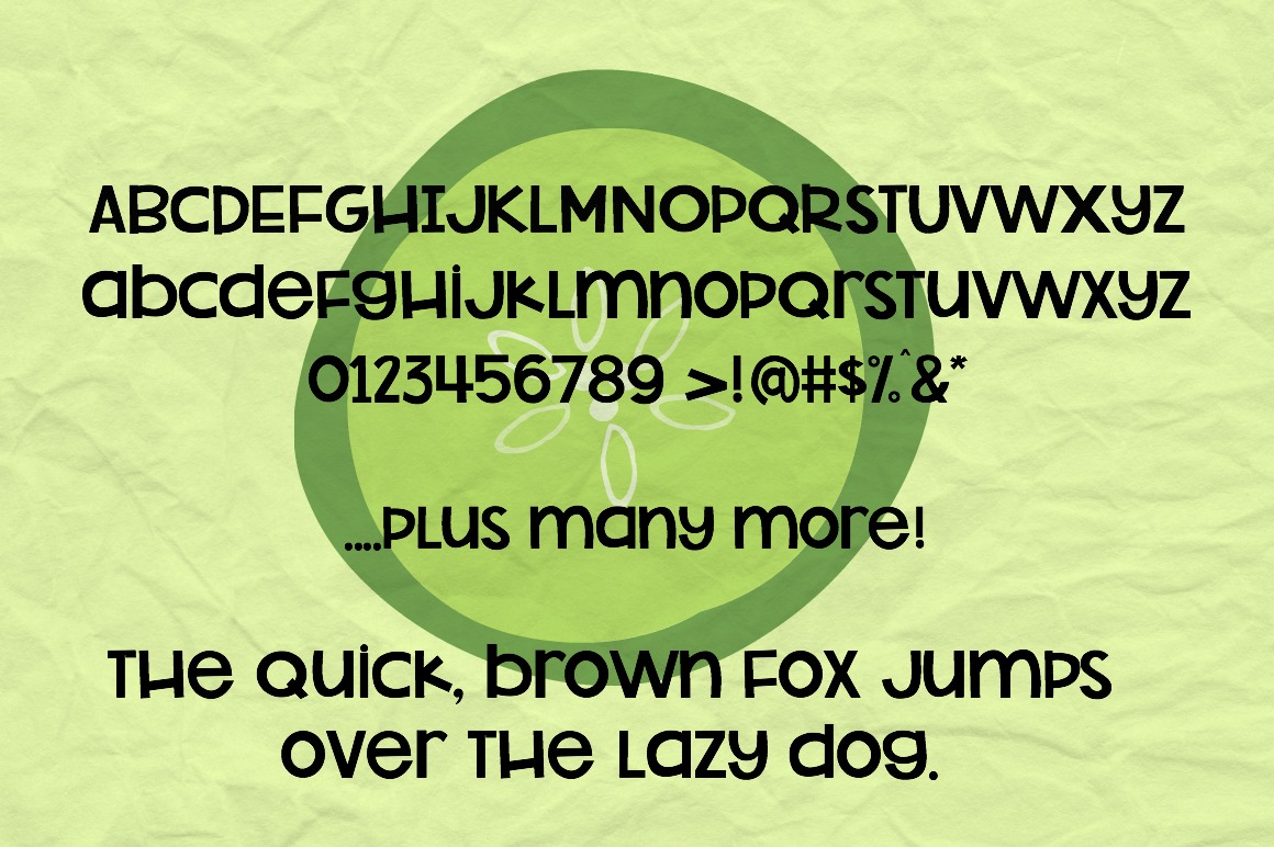 Pickleberry Font example image 3