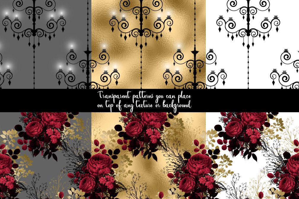 Gothic Pattern Overlays example image 2