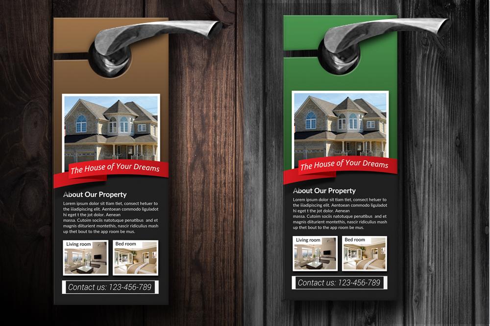 Real Estate Door Hangers example image 2