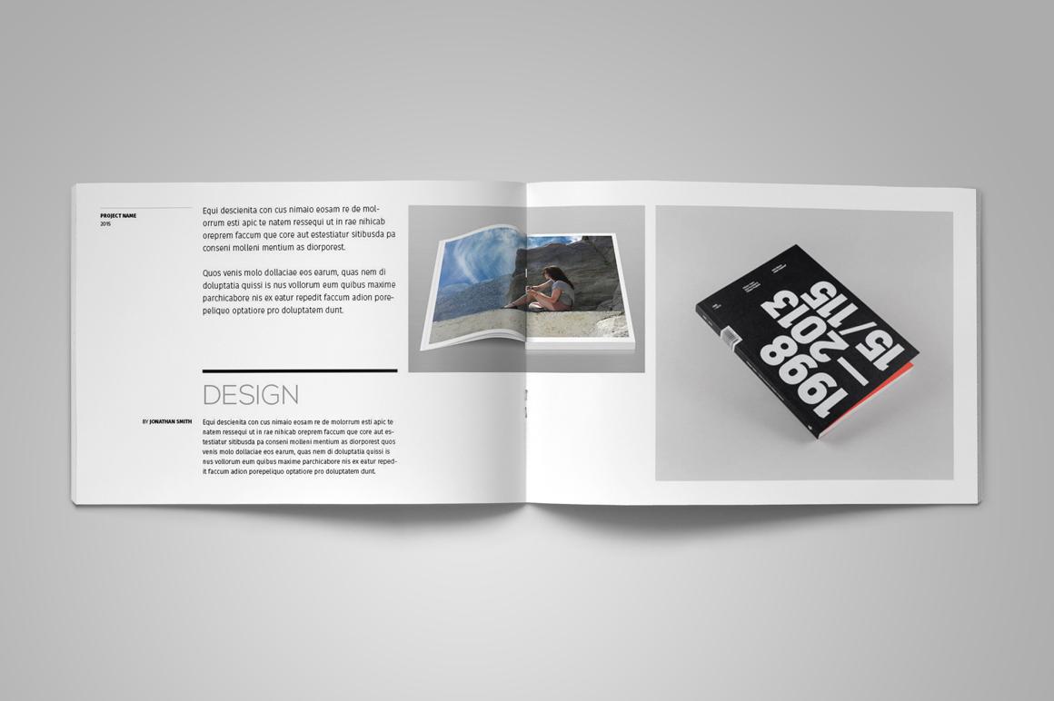Portfolio Brochure Template example image 4
