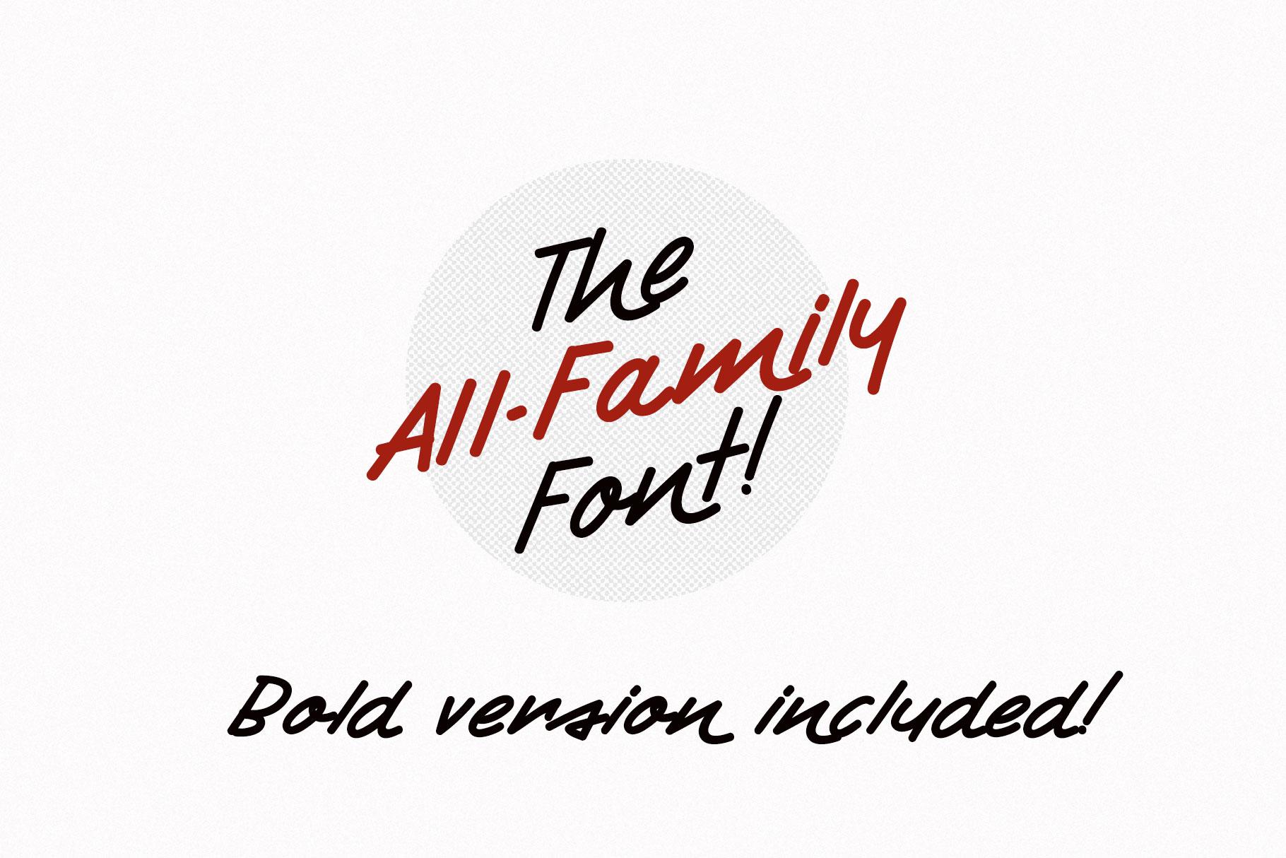 Retro Handwritten Font Fontryl example image 7