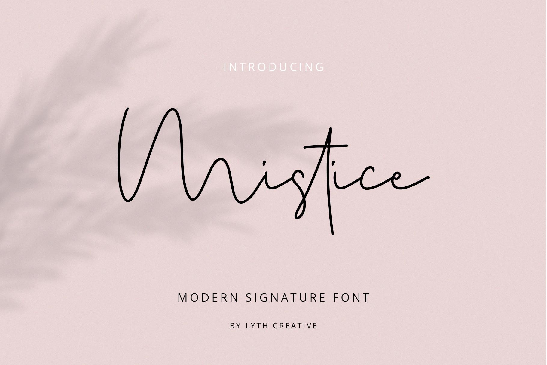 Mistice Signature example image 1