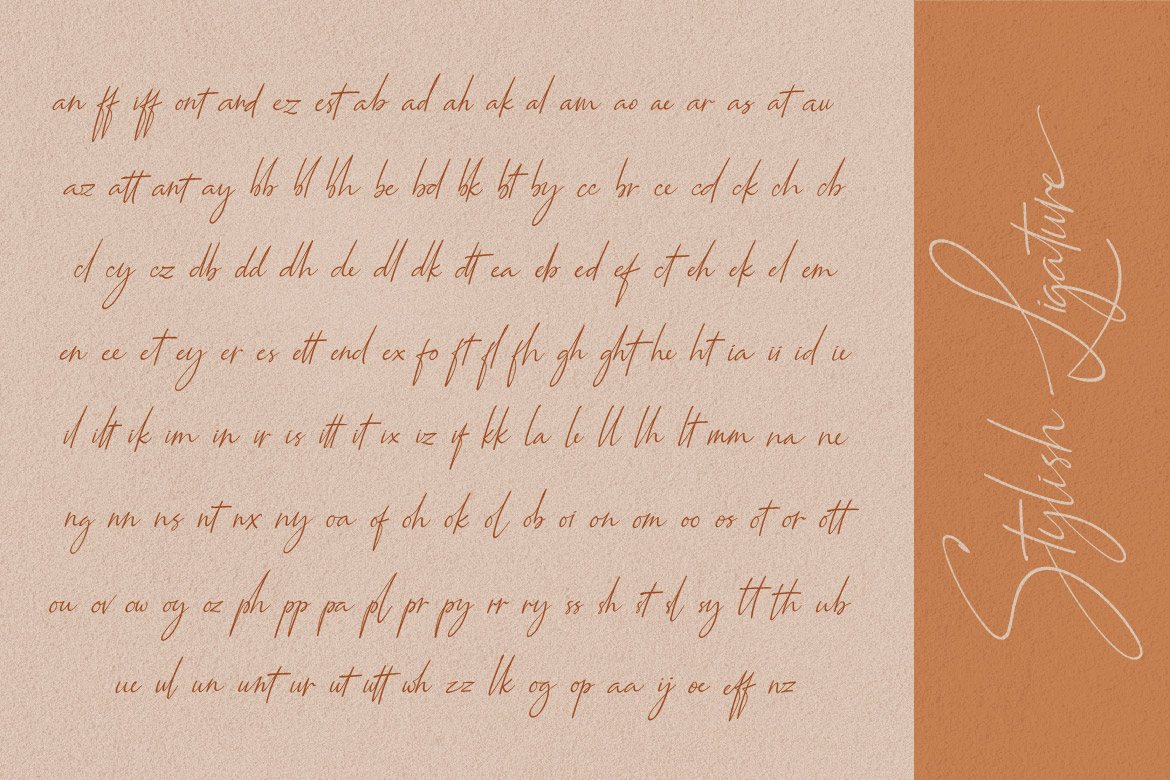 Qiara Collections Font Duo example image 11