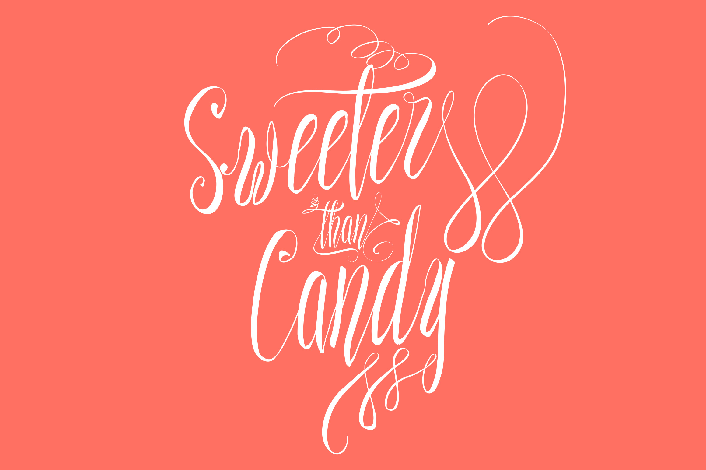 Sweeter than Candy Script example image 1