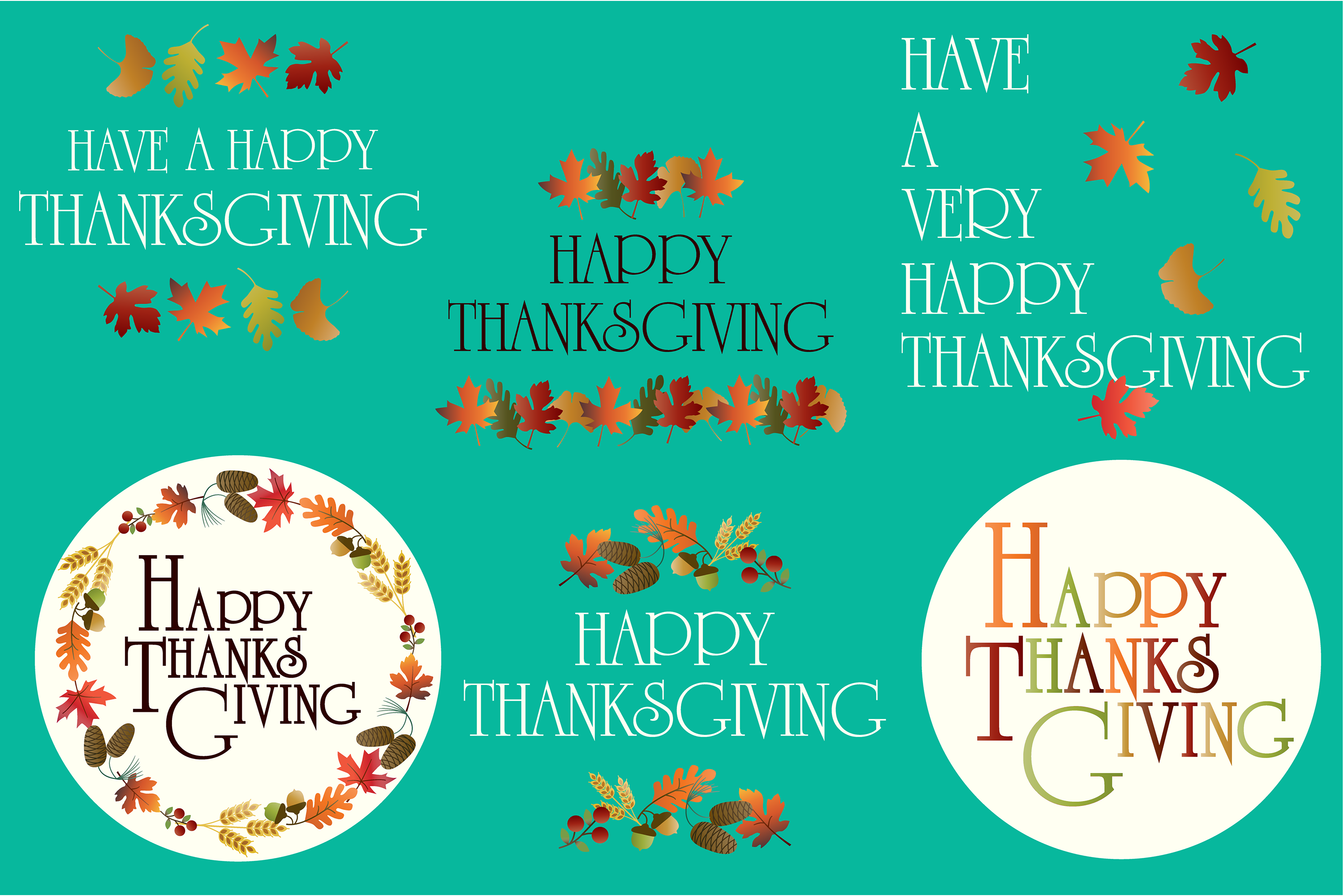 Thanksgiving Graphics example image 4