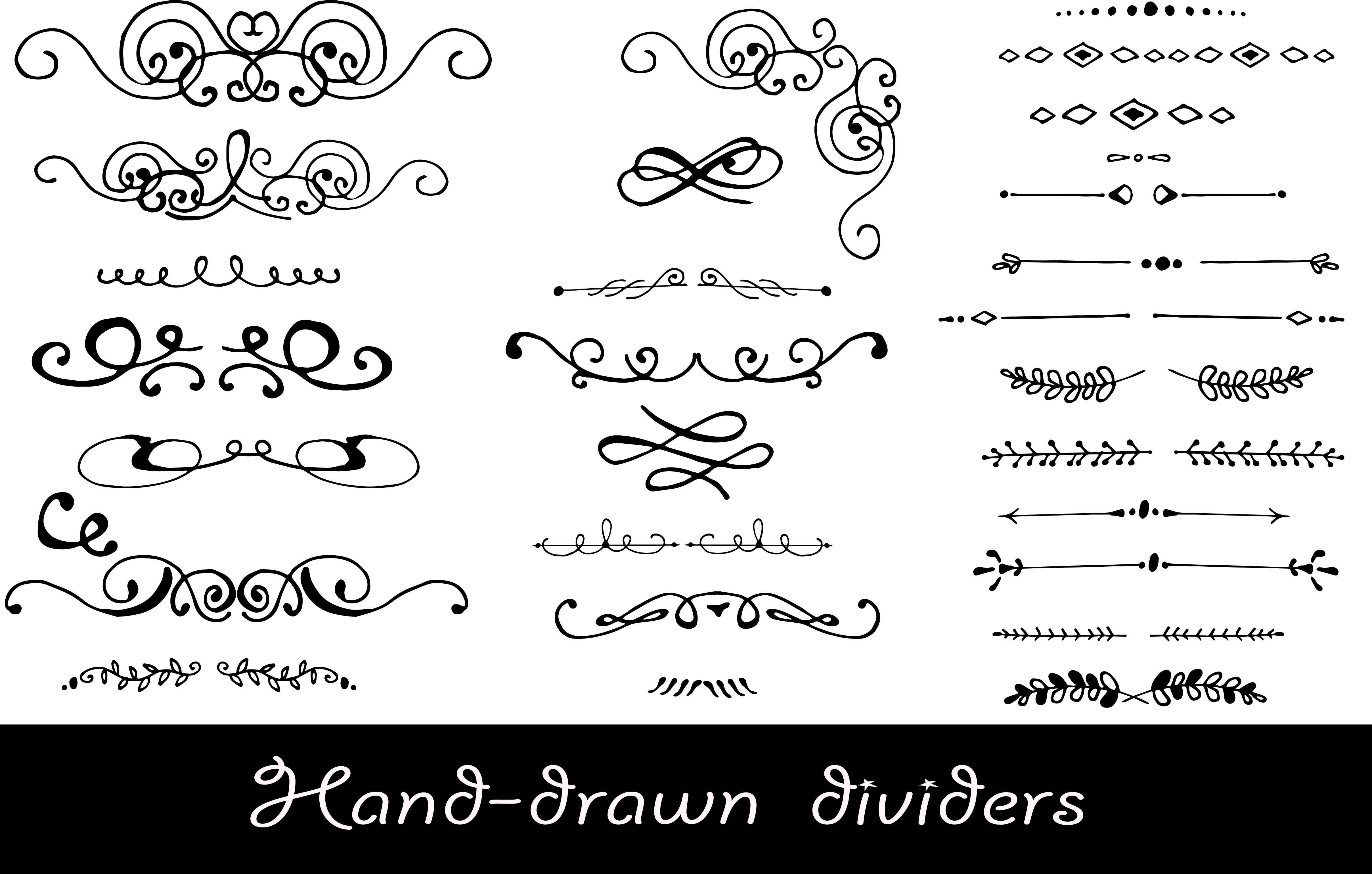 Hand-Drawn Ethnic Seamless Patterns example image 5