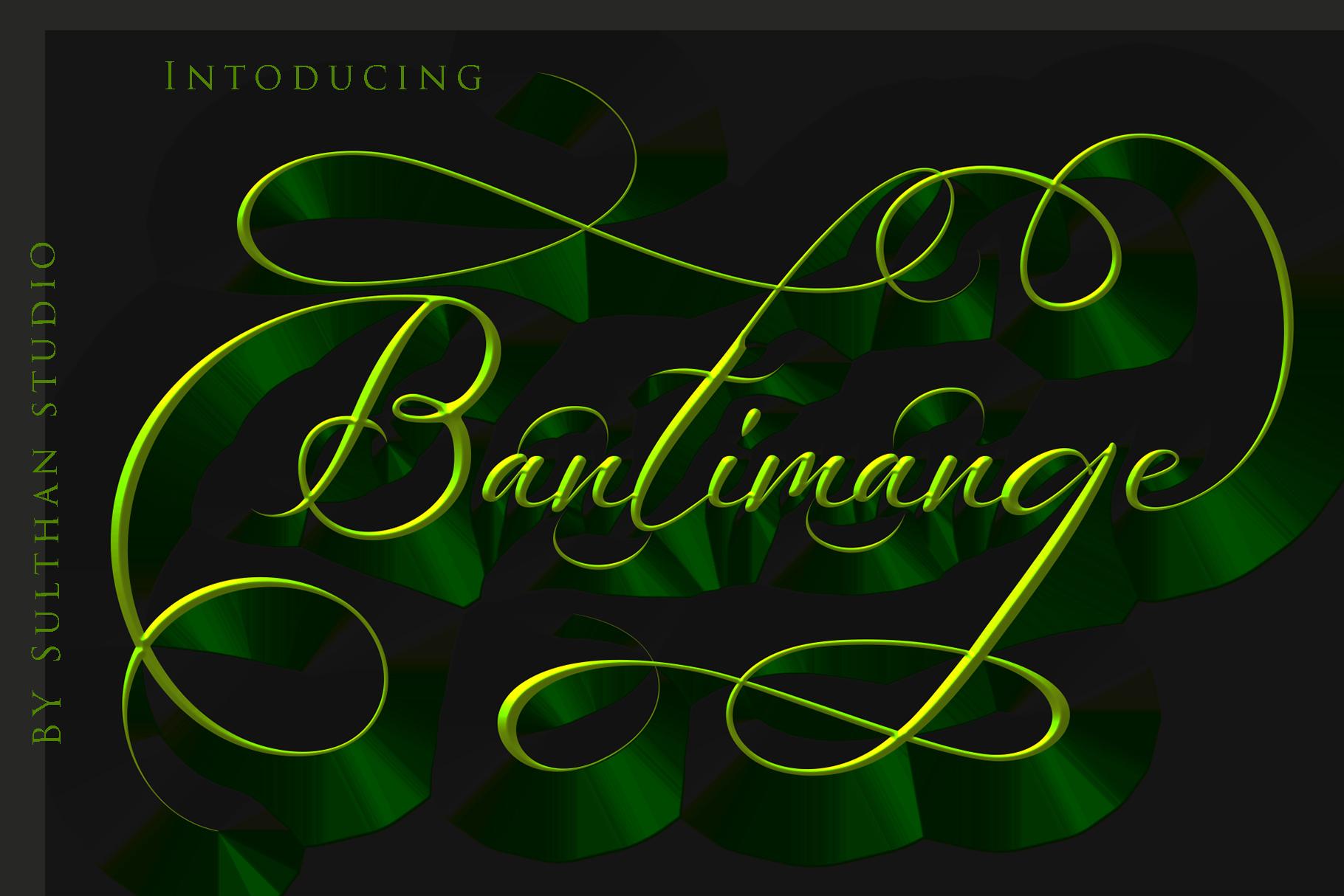 Bantimange script example image 2