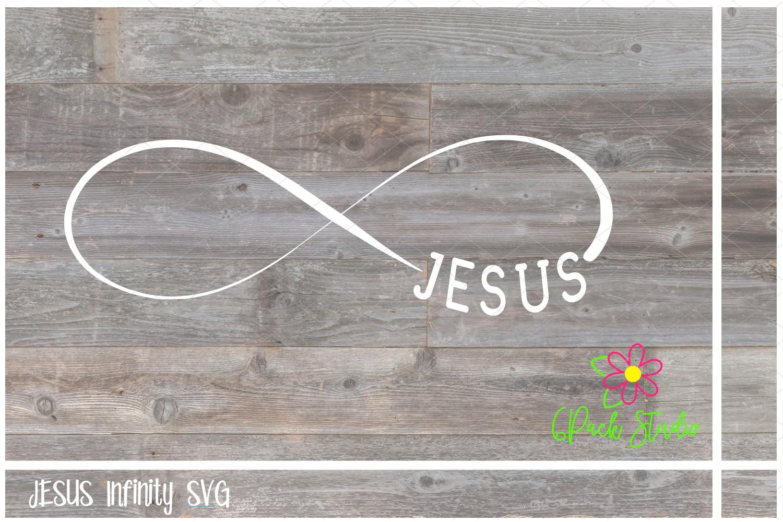 Jesus Infinity SVG example image 1
