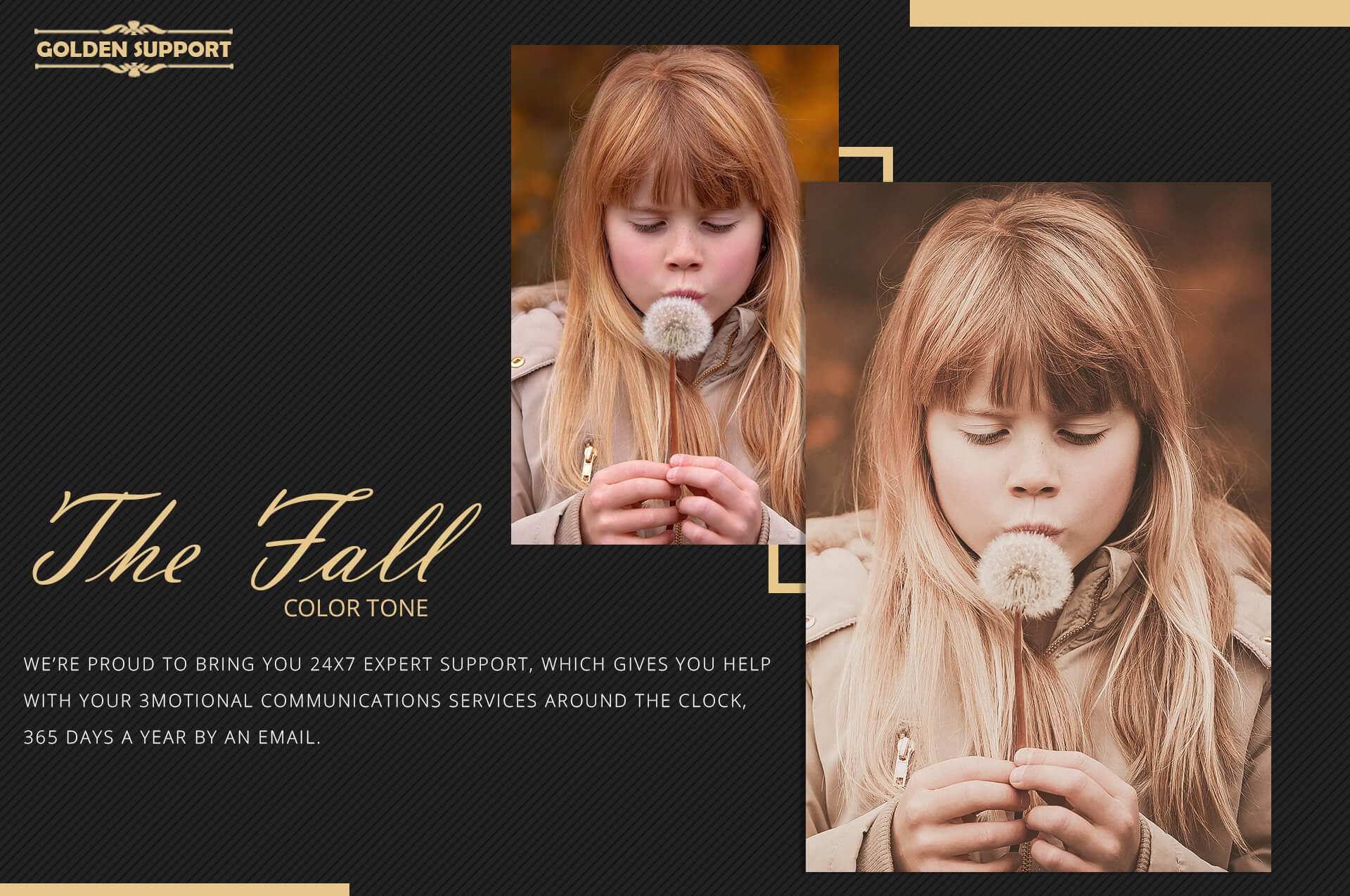 150 Fall Theme Color Grading Premium Photoshop action example image 9