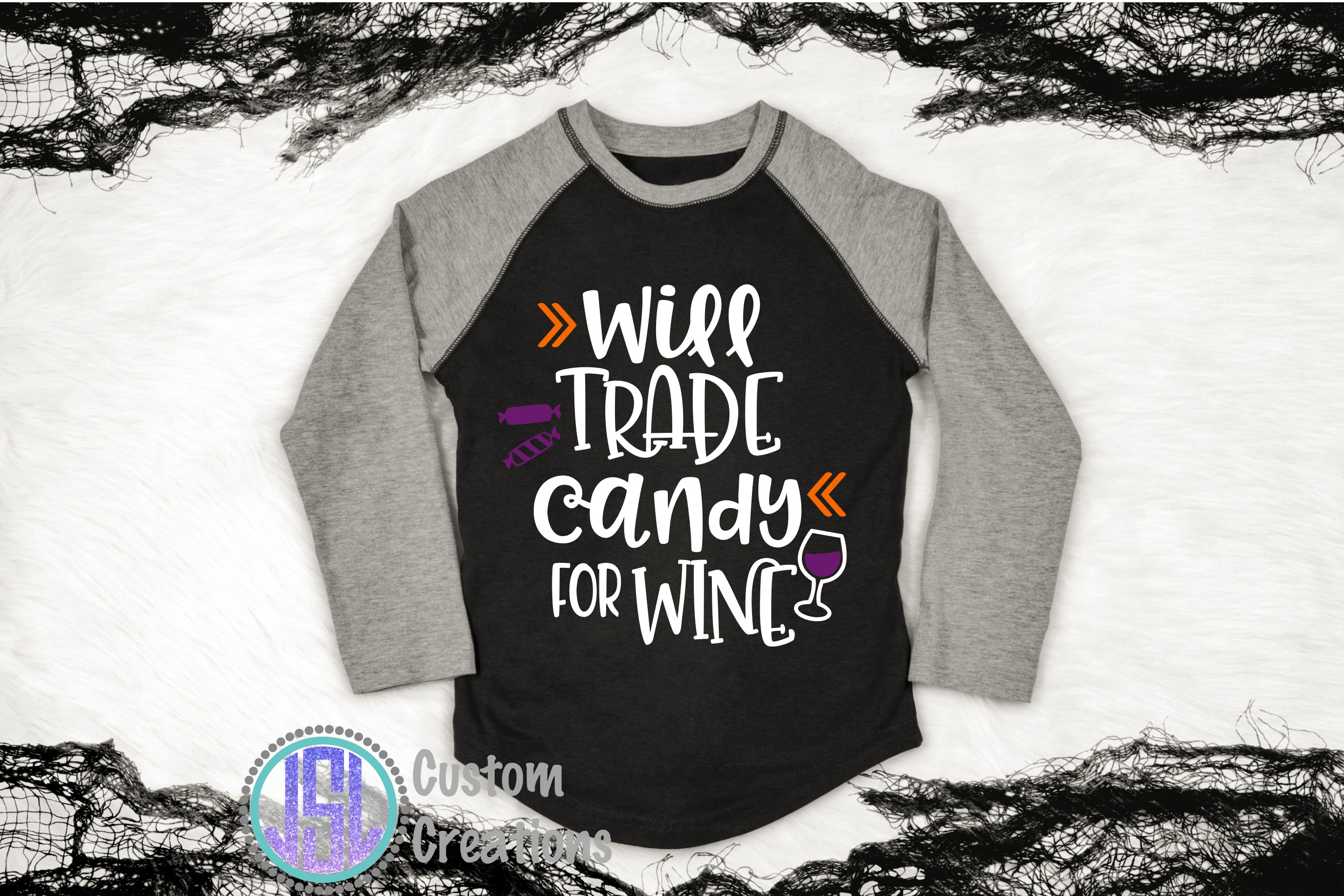 Will Trade Candy for Wine| SVG DXF EPS PNG Cut File example image 2