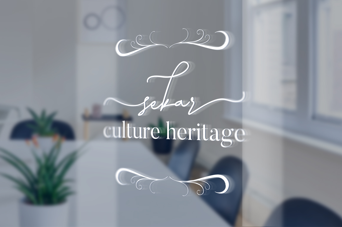 Laura Hellaw a lovely script font example image 7