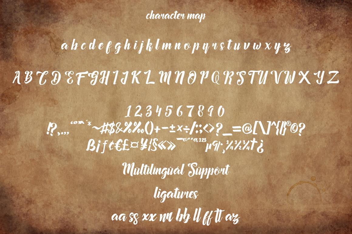Megalia - Script Font example image 4