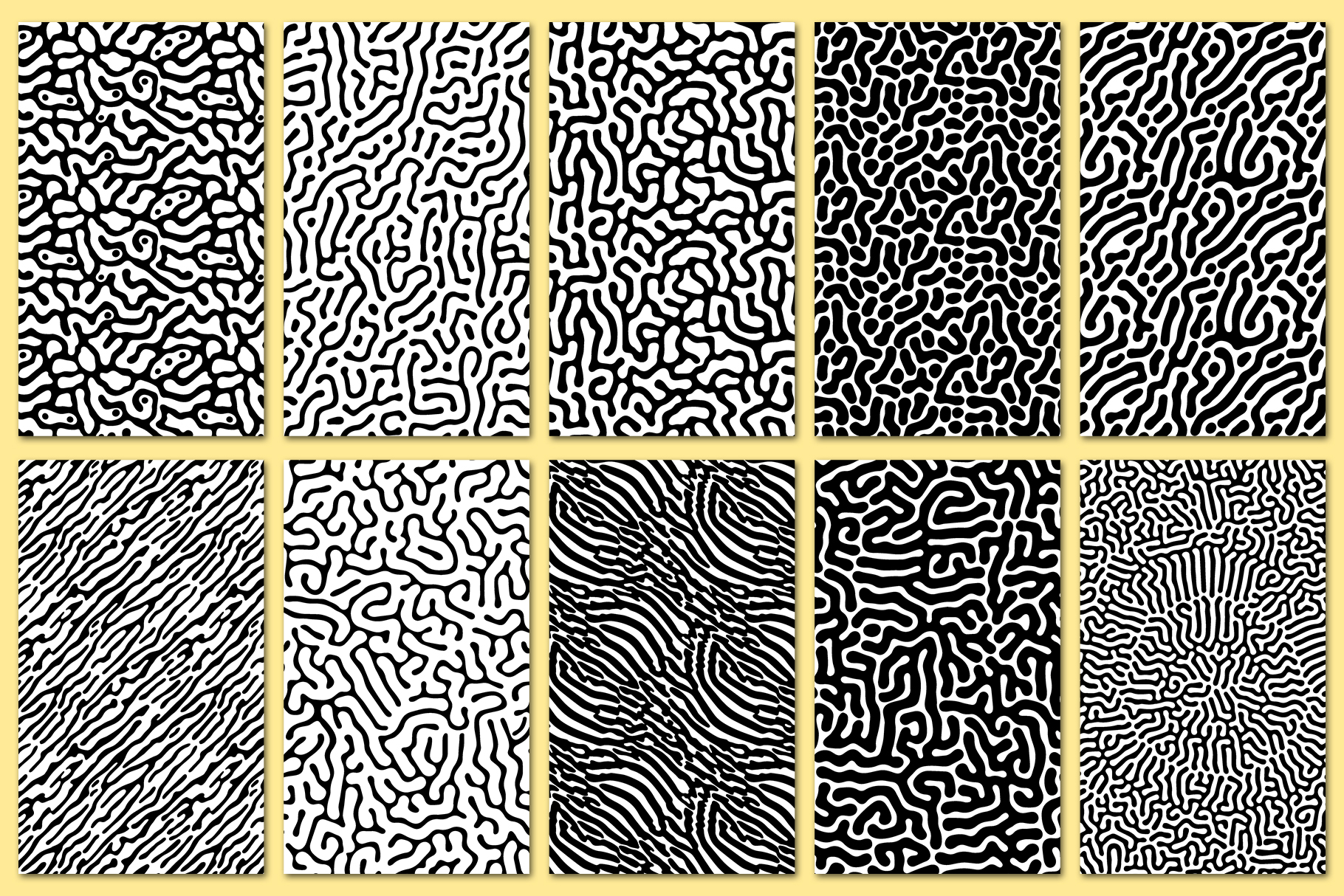 30 Abstract Seamless Vector Patterns example image 9