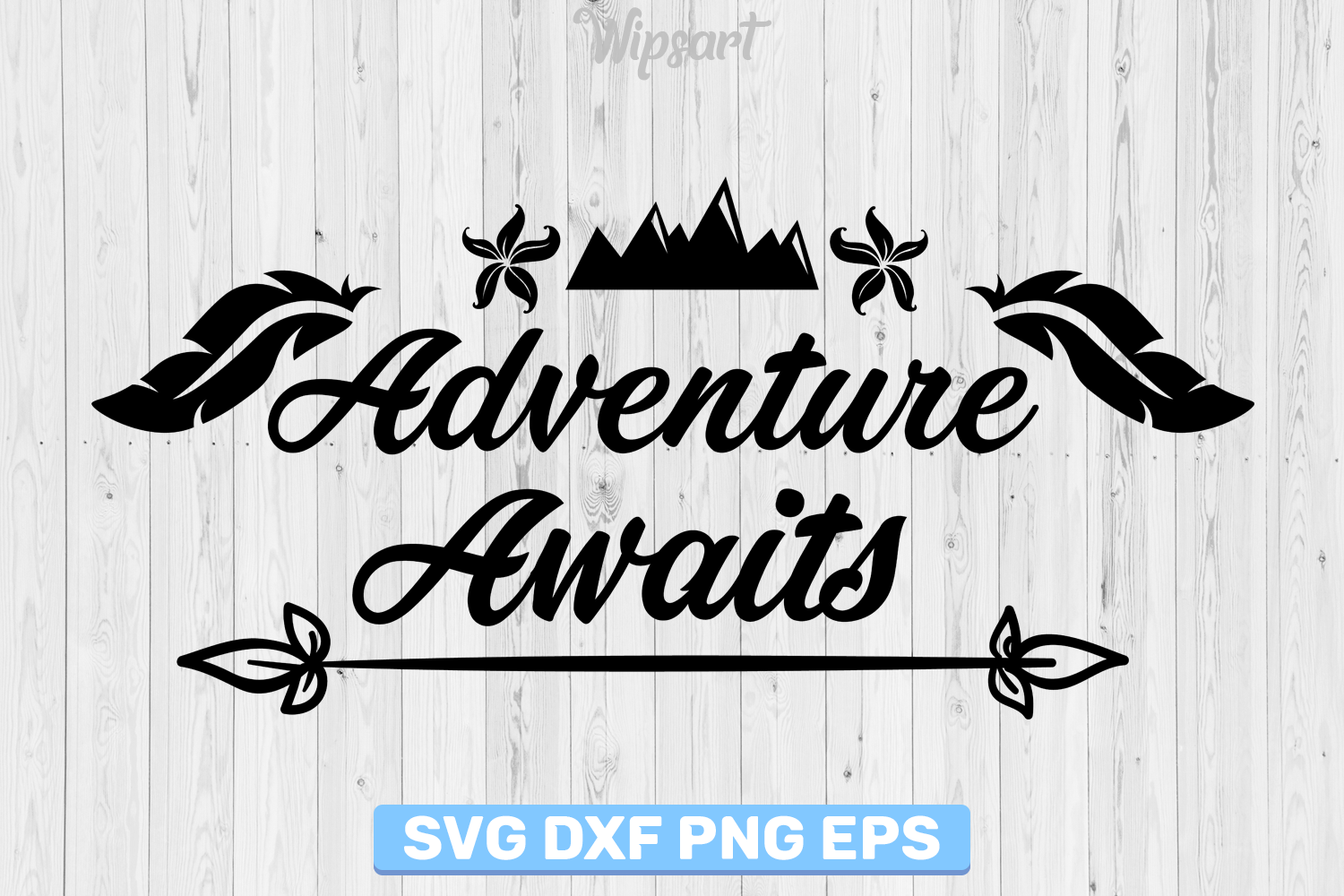 SALE! Adventure awaits svg, Adventure awaits silhouette svg example image 1